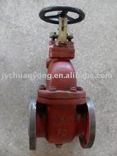 JIS standard non-rising stem gate valve,JIS F7363/7364,5K/10K,flange end