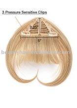 Hair Bangs/hair fringe, Human/Synthetic hair Bang/Fringe