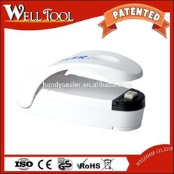 SMART SEALER MINI HANDY SEALER PLASTIC BAG SEALER ( WHITE COLOR )