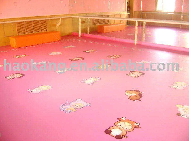 Flooring For Kids Room : PVC floor for Childrens room, View vinyl flooring, Haokang Product ...