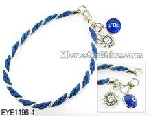 Fashion blue lucky eye bracelet