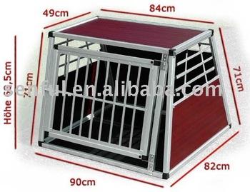Aluminum Box Aluminum Cage Hunde Box Dog Kennel