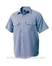 Men's Short Sleeve Double Pocket Shirt