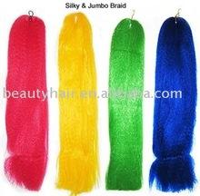 Jumbo braid, synthetic braiding hair, Yaki jumbo braiding