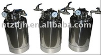 small stainless steel pressure tank