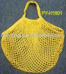 reusable cotton mesh bag