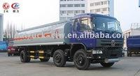 Fuel transportation truck 20M3 fuel tank truck 8x4 diesel oil transport tanker truck