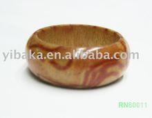 Fashion Wooden Ring(RN80011)
