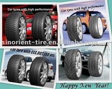 Fashionable passenger car tyre
