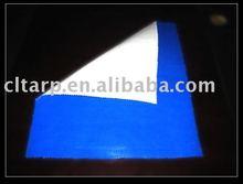 blue/white pe tarpaulin fabric