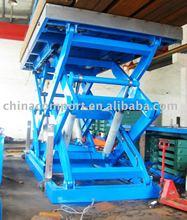scissor hydraulic lift (load lift cargos)