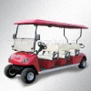 6 seats electric golf buggy/golf cart with CE certificate