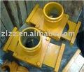concreto bomba mecânica válvulas de desligamento