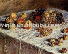monet fruit oil painting ytmn067