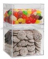 Clear Acrylic Boxes/ bulk bin/ clear acrylic dump bin C1013757