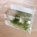 Transparente de acrílico del tanque de peces/acuario de acrílico