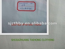 Cotton poplin grey textile fabric