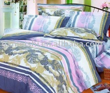 printed comforter set&4 pcs in a set