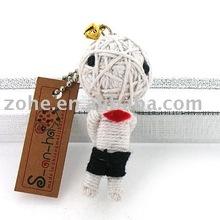 2012 hot sale mini Fashion voodoo dolls keychain