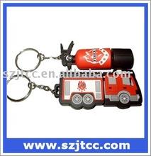 Fire Fighting PVC Car USB Flash Drive 32GB 2GB Gift USB Flash Memory 16GB USB Flash Drive Disk