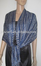 Mens shawl 100% cotton scarves fashion thin scarf with vine pattern indian men shawl