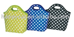 Round Dots Lunch Cooler Bag (HP-1334)