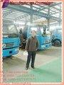 Dta tanque séptico de vacío de succión de aguas residuales de camiones cisterna de aguas residuales( howo, dongfeng, foton, jac, faw todos los disponibles) séptico máquina de coser de vacío de camiones