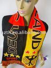 acrylic football scarf