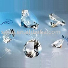 Popular 80mm Wedding Gift Crystal Diamond
