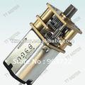 Gm12-n20va engranaje de la cc del motor 12v del motor eléctrico