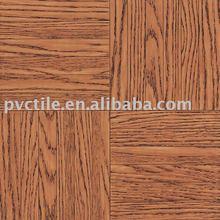 Self Adhesive plastic floor covering wood looking