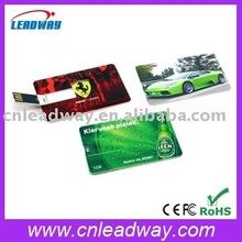 customize usb credit card colorful printing