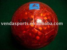 fancy laser gloss soccer ball