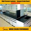 laboratory HPL Compact laminate / laboratory chemical resistant board