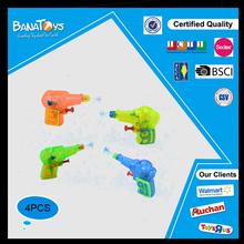 Summer toy transparent mini plastic water gun
