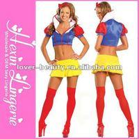 2PC Snow White Sexy Fairy Costume, Halloween Costume