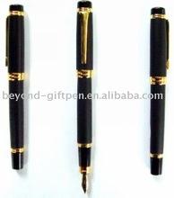 high quality metal gold fountain pen