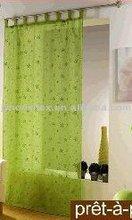 embroidery gauze curtain fabric window curtain wholesale cheap