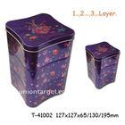 Cookie tin box T-41002