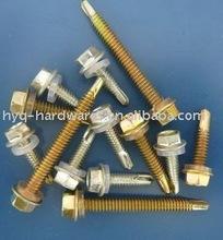 zinc plated Self Drilling Screw 1.25*3/8