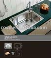 rectangular del grifo de cocina fregadero de acero inoxidable material ua3019