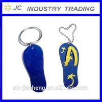 soft pvc /rubber sandal keychain