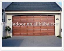 wooden color auto garage doors (WJ-GD-1502)