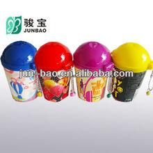 30pcs wet wipes promotional item in mini palstic barrel