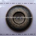 cepillado de la moda de la resina de acabado para botón de abrigo