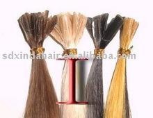 U-tip hair/Nail hair pre bonded hair remy