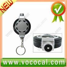 Portable Mini Keychain LCD Digital Auto Car Tire Pressure Gauge