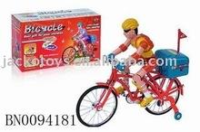 Plastic toy vehicle,B/O bicycle