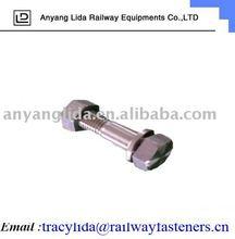 Haute thesion hex boulons / ferroviaire accessoire / chemin de fer raccords
