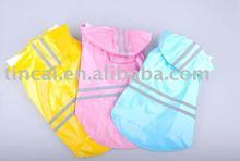 Beautiful/Reflective dog clothes/dog raincoats